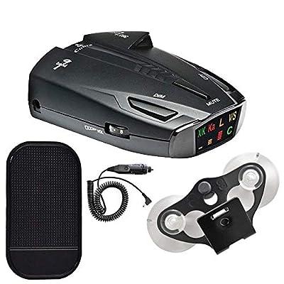Cobra ESD7570 9-Band Performance Radar/Laser Detector with 360 Degree Detection