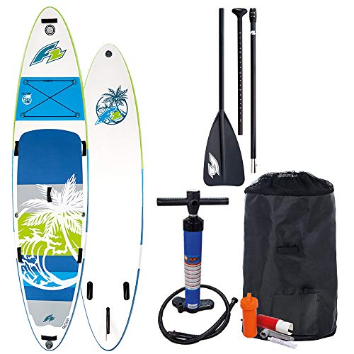 F2 Inflatable Aloha Stand Up Paddle Board Green