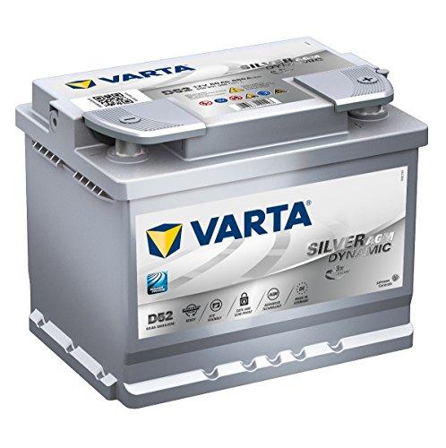 VARTA START-STOP PLUS AUTOBATTERIE D52 12V 60AH 680A 560 901 068 BATTERIE