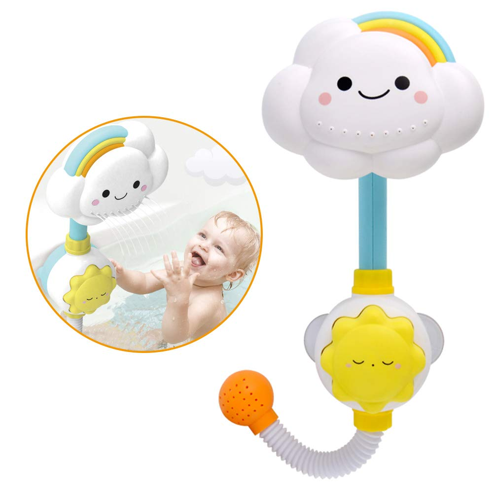 Spray Super intense SALE Bathing Tub Water Toy for Cute Very popular! with Baby Cloud Pump