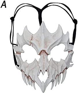 pangxiannv Halloween Props Cosplay mask Resin (Dragon God, Yasha, Tiger, Tengu)