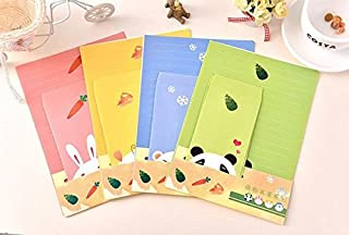 SCStyle 30 Cute Lovely Kawaii Cartoon Animal Design Version 2 Writing Stationery Paper with 15 Envelope
