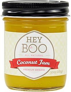 Premium Coconut Jam - Delicious - No Corn Syrup - Dairy Free - Made in USA, 10 oz (Original)
