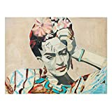 Bilderwelten Leinwandbild - Frida Kahlo - Collage No.1 - Querformat 3:4 75cm x 100cm