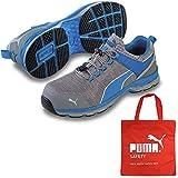 [プーマ] 安全靴 エキサイト 2 ブルー ロー 27.5cm 不織布バッグ付セット 64.227.0