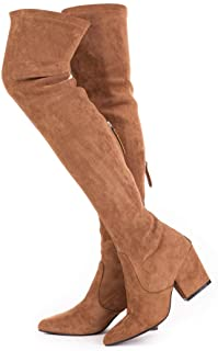 Women Boots Winter Over Knee Long Boots Fashion Boots...