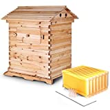 BestEquip Bee Hive Frames Wooden House Automatic Honey Bee Hive Wooden...