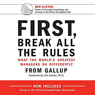 First, Break All the Rules cover art