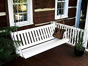 product image for Furniture Barn USA Traditional English 4ft. Porch Swing - Amish Made - 4 Foot Painted White
