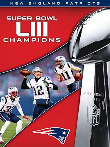 NFL Super Bowl LIII Champions New England Patriots