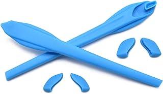 HKUCO Juego de patas de silicona de repuesto para Oakley Flak 2.0/Flak 2.0 XL Gafas de sol Calcetines de oreja Kit de goma