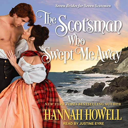 The Scotsman Who Swept Me Away audiobook cover art