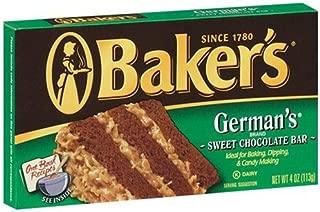 Best baker's german chocolate baking bar Reviews