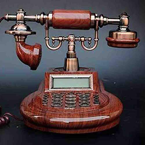 MEICHEN Amerikanisches Antikes Telefonfestnetz Kontinentales Telefonhaus Plug-In Örtlich Festgelegtes Büro Antikes Retro- Telefon