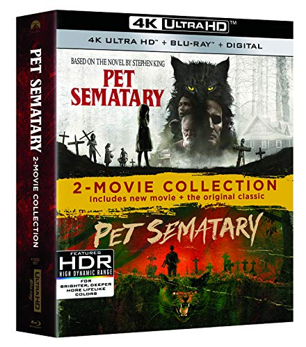 Pet Sematary 2019/1989 (2 Movie Collection) [Blu-ray]