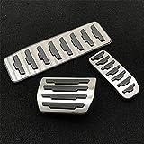 FLJKCT Accesorio Modificado de la Almohadilla del Pedal de reajuste del reposapiés del Acelerador, para Land Range Rover Evoque/Discovery Sport Automático/Manual