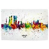 artboxONE Poster 30x20 cm Städte Madrid Spain Skyline