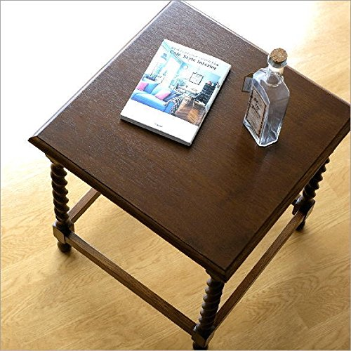 ベッドサイドテーブル 木製 ナラ材 おしゃれ オークフリーサイドテーブル [diz4131]