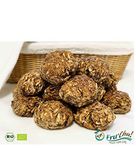 Fru'Cha! - BIO Brot-Backmischung mit Mandelkernen, glutenfrei und vegan, paleo -750gr - Plastikfrei verpackt -100% kompostierbar