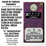 Nepenthe Coffee and Chocolates The Keto Culture Unsweetened Sugar-Free Blueberry Dark Chocolate, 60...