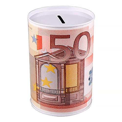 Aiong Hucha, Hucha Que Ahorra Hucha de la Lata de la decoración del hogar de la Caja de Dinero del Ahorro
