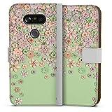 Étui Compatible avec LG G5 Étui Folio Étui magnétique Designer Cuir Marina Hoermanseder
