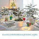 24 LED Kerzen, Diyife® LED Flammenlose Tealights, Flackern Teelichter, elektrische Kerze Lichter Batterie Dekoration für Weihnachten, Weihnachtsbaum, Ostern, Hochzeit, Party [Batterien enthalten] - 5