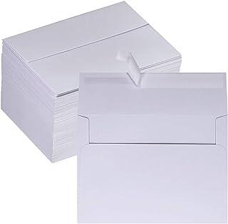 Winlyn 150 Pcs 4x6 Envelopes A4 Invitation Envelopes White Self Seal Mailing Photo Envelopes Bulk Blank Greeting Card Enve...