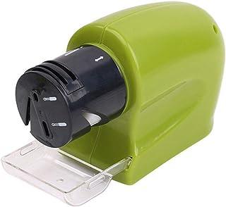 Afilador de cuchillos eléctrico profesional Afilador de cuchillos motorizado Herramienta de afilado de piedra de afilado giratorio