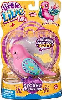 Little Live Pets 28390 Tweet sprechender Vogel farblich sortiert
