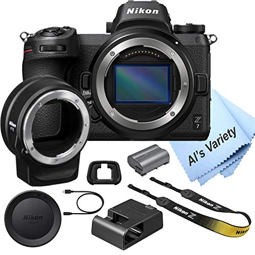 Nikon Z7 FX-Format Mirrorless Camera Body with Mount Adapter FTZ