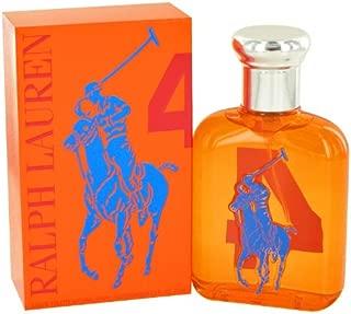Ralph Lauren The Big Pony Collection #4 Eau De Toilette for Men 2.5 OZ. 75 ML.