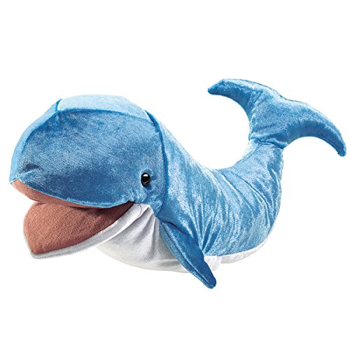 Folkmanis Whale Hand Puppet