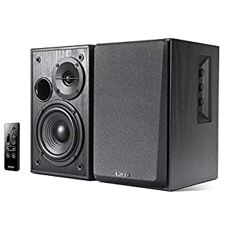 Edifier R1580MB Active 2.0 Speaker System with Dual Microphone, Bluetooth, AUX, Dual RCA, 42W RMS, Rich Bass Performance, Ideal for Venues, Meeting Spaces, Wedding, School, Commercial Business (B0785TGNVY)   Amazon price tracker / tracking, Amazon price history charts, Amazon price watches, Amazon price drop alerts