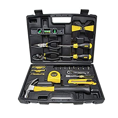STANLEY Mechanics Tools Kit / Home Tool Kit, 65-Piece (94-248) from Stanley