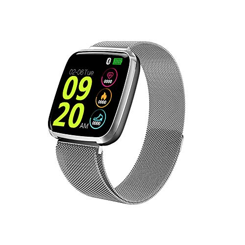 RONSHIN Fitness Tracker, S7 Smart Watch Kleur Scherm Slaap Hartslagmeter Sport Fitness Tracker