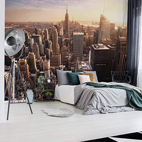 Ustad Home Empire State View Wallpaper