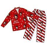 Set Pigiama personalizzato con Foto personalizzata Set Pigiama natalizio a Maniche Lunghe Set da Notte Divertente Abbigliamento da casa Casual per Unisex