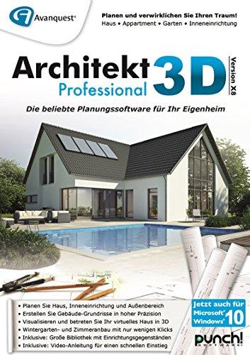 Architekt 3D X8 Professional [PC Download]