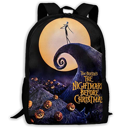 Sally Nightmare Before Christmas Witch~Customized Leisure Backpack School Bag Travel Backpack Gift