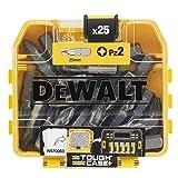 Dewalt DT71521-QZ DT71521-QZ-Juego de 25 Puntas Pz2 de 25 mm, 0 V, Único