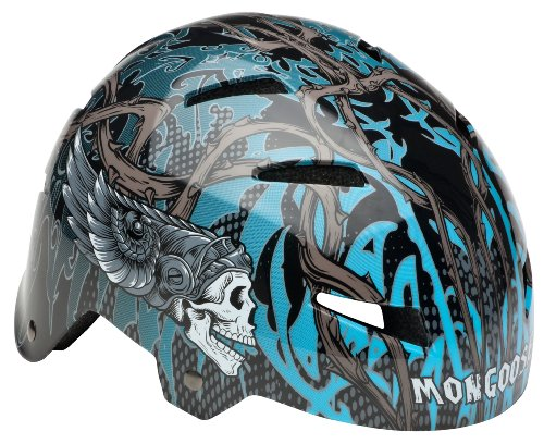 Mongoose Kroman Youth Hardshell Skulls