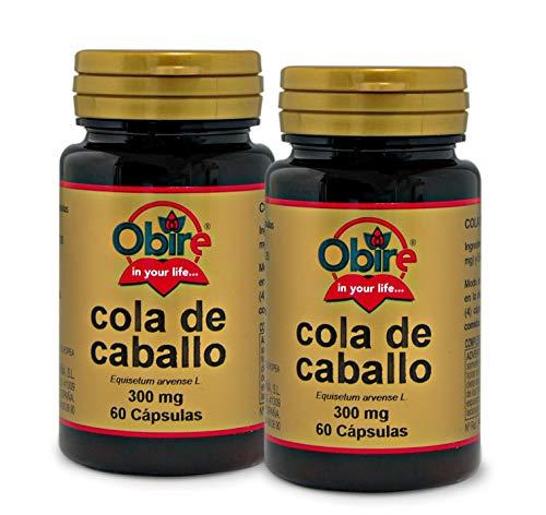 Obire | Cola de caballo 300 mg | 60 Cápsulas. (Pack 2 unid.)
