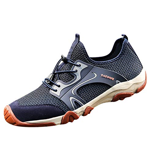 Men's Fashion Retro Outdoor Sneakers Breathable Mesh Running...