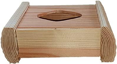 ポケットティッシュケース(3個セット) 木製 国産天然杉 卓上 小物 入れ オフィスデスク ぴったり 収納