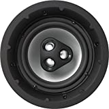 NHT iC4-ARC 2-Way 8-inch In-Ceiling Speaker with Aluminum Driver, 150 Watts, Single, Matte White