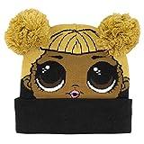 Characters Cartoons LOL Surprise Bambina Set Invernale in Maglia 3pz Cappello Guanti e Sciarpa