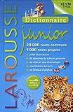 Dictionnaire Larousse junior (7-11 ans) 20 000 mots