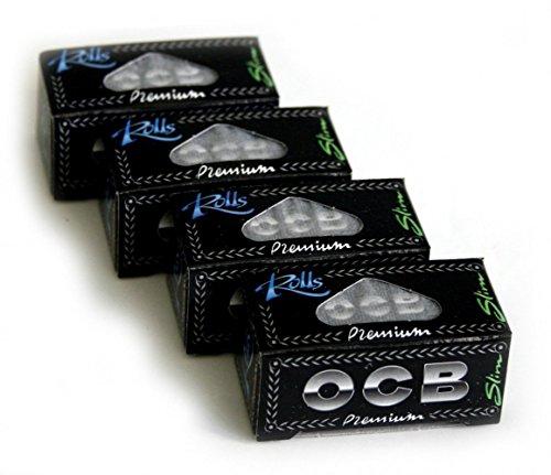 OCB Premium Slim Rolls x 4 Rolls