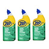 ZEP Commercial Acidic Toilet Bowl Cleaner, 32 Ounce (3, 32.0 Fl Oz), 3 Pack